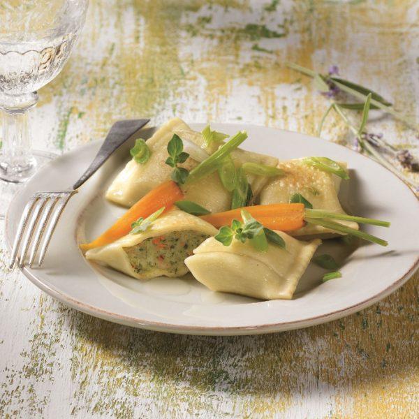 Gemüse Maultaschen